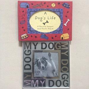 Precious Dog's Life Keepsake Book & Frame